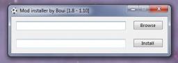 Mod installer - 1.8 - 1.10