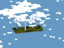Build Of Majoras | Wind Turbines Minecraft Map & Project