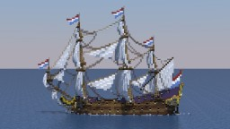Ship of the Line (The Seven Provinces) Minecraft Project