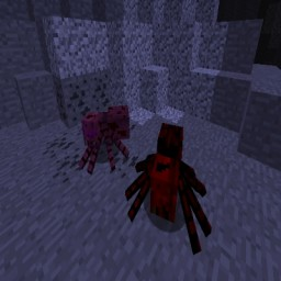 Much More Spiders Reborn Minecraft Mod