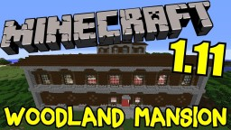 How to Brave a Woodland Mansion! (w/ seed) :D Minecraft Blog Post