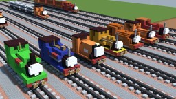 Skarloey Railway Locomotives & Rolling Stock Minecraft