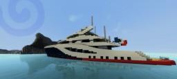 Modern Yacht #2 - Lychen Minecraft Map & Project