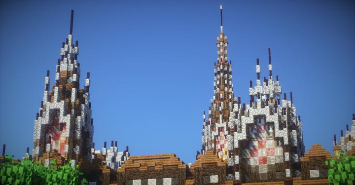 Towers Closeup