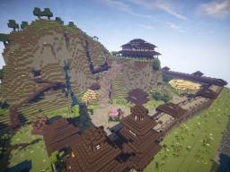 oriental fort/kasteel Minecraft Map & Project