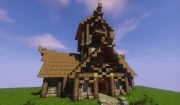 Medieval Townhall Minecraft Map & Project
