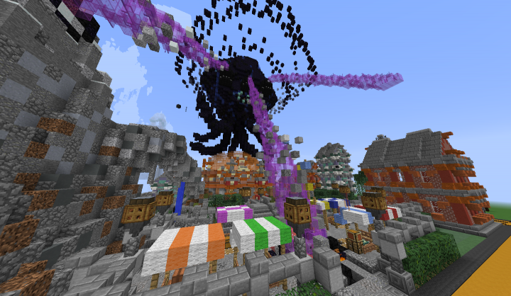 Wither Storm Plot From Minecraft Story Mode Minecraft Map