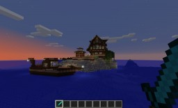 Island House & Farm Minecraft Map & Project
