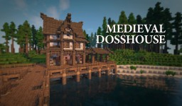 Medieval Dosshouse + Let's Build Minecraft Project
