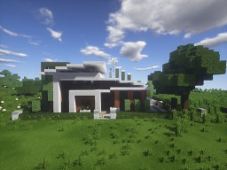 Modern House 35x35 - Minecraft 1.10.2 Minecraft Project