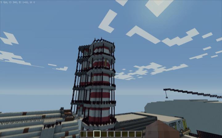 New Ventilation Tower