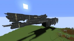 Minecraft Halo Project - Charon Class Frigate (Halo 3 - Full scale)