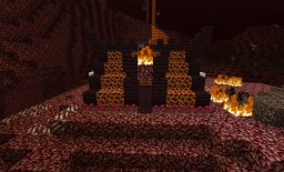 Nether tent (magma mold) Minecraft Map & Project