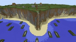 The Battle of Pointe Du Hoc WW2 Minecraft Map & Project