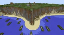 The Battle of Pointe Du Hoc WW2 Minecraft Project