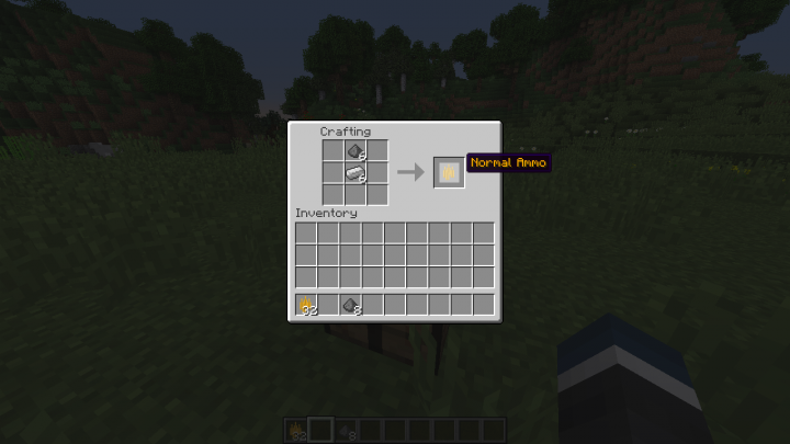 Ammo and other items can be crafted.