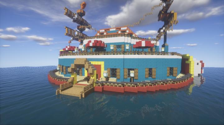 '' Era of Dreams '' 夢の時代 One Piece World Map Minecraft Map