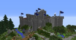 Brokkonaut Castle Minecraft Map & Project