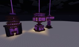 purple Crystal sage Towers Minecraft Map & Project