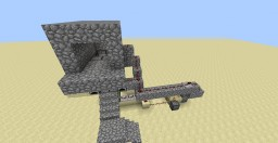 Redstone Elevator Minecraft Map & Project