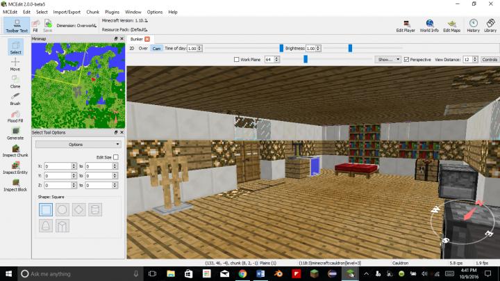 Indestructible Redstone Underground Bunker Minecraft Project