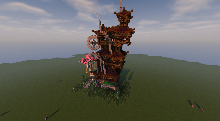 Steampunkasian Sutīmupanku Minecraft Project