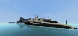 Modern yacht #1 - Lychen Minecraft Map & Project