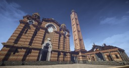Cathedral of Christ the Saviour (Banja Luka, Bosnia and Herzegovina) Minecraft Project