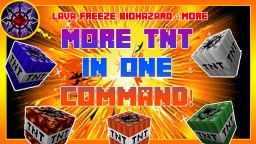 More TNT In One Command! Minecraft Map & Project