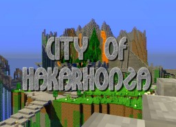 City of Hakarhonza - Lost Maya City in the Sky by DelTaz (WIP) Minecraft
