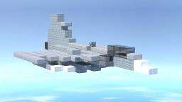 Swedish JAS 39 Gripen Fighter Jet Minecraft