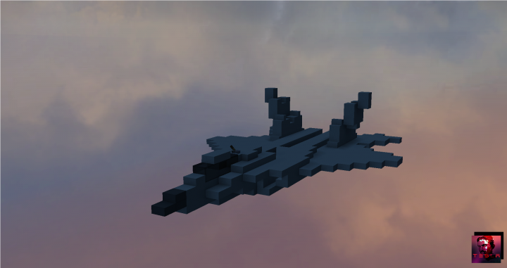 Lockheed Martin F 22 Raptor Minecraft Project