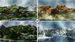 [VI] Alpha Slopes - 12k x 12k Remaster - Custom Terrain (Snow, Desert, Nether, Forest)