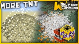 More TNT with only one command block Minecraft Project