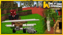 LEGO MOD with only one command block - Build with tiny blocks in vanilla Minecraft! Minecraft