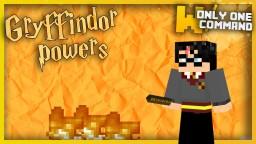 Gryffindor Powers with only one command block! Minecraft Project