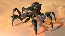 Giant mechanical arthropod Minecraft Project