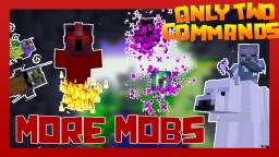 MORE MOBS with only two commands! Minecraft Map & Project