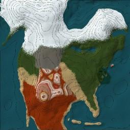 North America Survival Map Minecraft