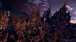 Nilvalhia - Woodpunk City Minecraft Map & Project