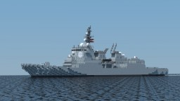 JMSDF Atago-class destroyer Minecraft