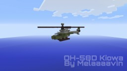 Bell OH-58D Kiowa: Military Helicopter Minecraft Map & Project