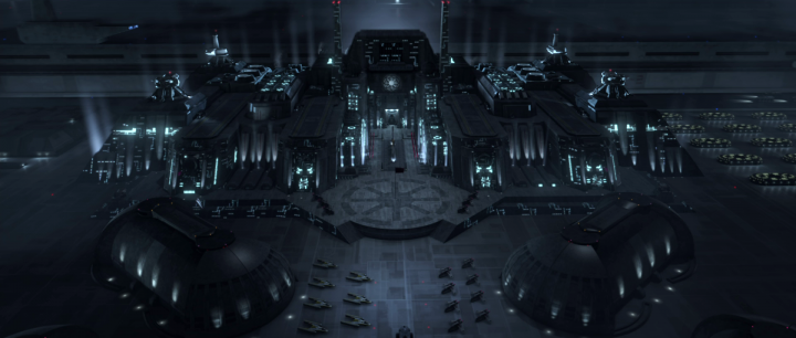 Star Wars Republic Military Base Minecraft Project