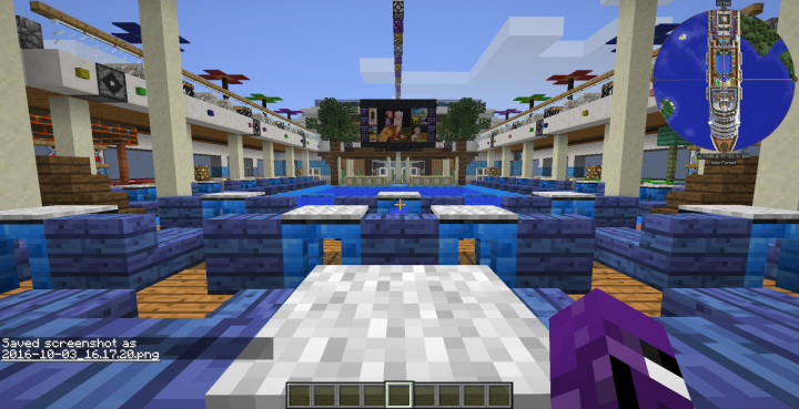 Cruise Ship Original Tropical Luxury Minecraft Project