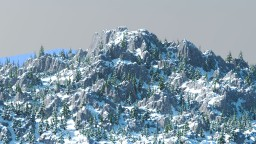 Snow Location for Building [2000x2000] Minecraft Map & Project