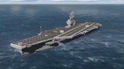 USS Ronald Reagan CVN-76 Minecraft Project