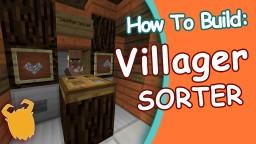 HOW ! EASY Villagers Sorter! (WORKS IN SKYBLOCK!) -1.10 Minecraft Blog