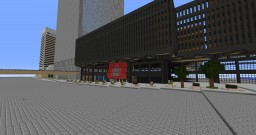 World Trade Center Street level life size Minecraft Project