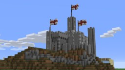 Small English Castle Minecraft Map & Project