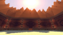 Master Builder Map - Red Temple Minecraft Project